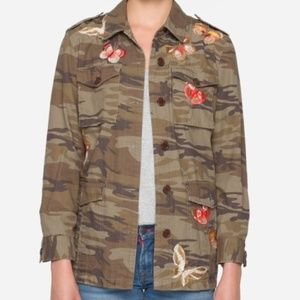 NWT JOHNNY WAS ANISE MILITARY JACKET XS
